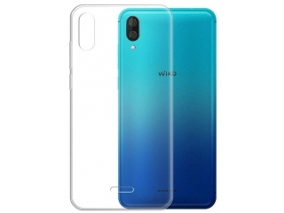 Wiko Y80 Gummi TPU Hülle flexibel dünn transparent thin clear