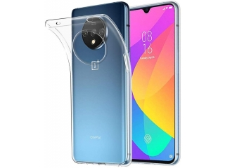 OnePlus 7T Gummi TPU Hülle flexibel dünn transparent thin clear