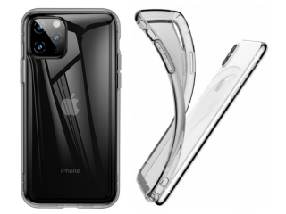 Baseus iPhone 11 Pro Ultra Thin Airbag Case Gummi Hülle clear schwarz