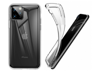 Baseus iPhone 11 Pro Max Ultra Thin Airbag Case Gummi Hülle clear