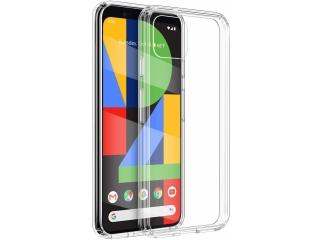 Google Pixel 4 XL Gummi TPU Hülle flexibel dünn transparent thin clear