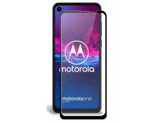 Motorola One Action 100% Vollbild Panzerglas Schutzfolie 0.23mm 2.5D
