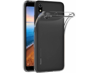 Xiaomi Redmi 7A Gummi TPU Hülle flexibel dünn transparent thin clear