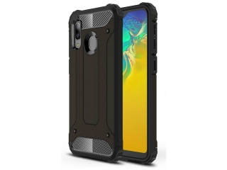 Samsung Galaxy A20e Outdoor Hardcase & Soft Inlay für Sport Business