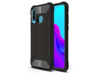 Huawei P30 Lite Outdoor Hardcase Soft Inlay für Sport Business schwarz