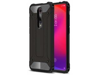 Xiaomi Mi 9T Outdoor Hardcase & Soft Inlay für Sport Business schwarz