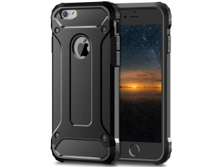 iPhone 6S Outdoor Hardcase & Soft Inlay für Sport Business schwarz