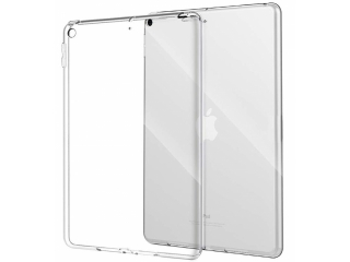 "iPad (2019) 10.2"" Gummi Case Hülle TPU Transparent Crystal Clear"