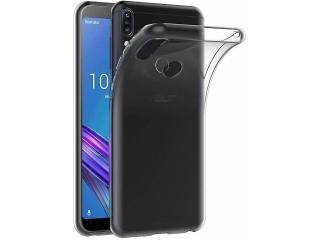 Asus Zenfone Max Pro M1 Gummi TPU Hülle flexibel dünn transparent case
