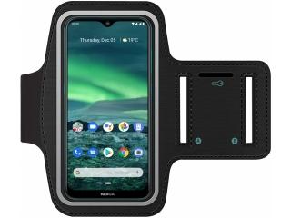 Nokia 7.2 Fitness Jogging Sport Armband mit Schlüsselfach
