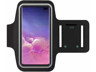 Samsung Galaxy S10+ Fitness Jogging Sport Armband mit Schlüsselfach