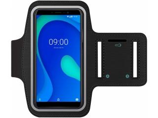 Wiko Y80 Fitness Jogging Sport Armband mit Schlüsselfach