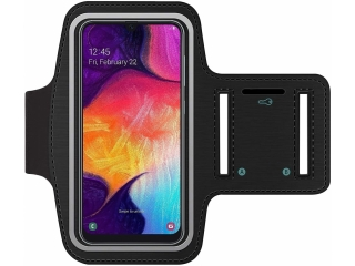 Samsung Galaxy A50 Fitness Jogging Sport Armband mit Schlüsselfach