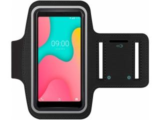 Wiko Y60 Fitness Jogging Sport Armband mit Schlüsselfach
