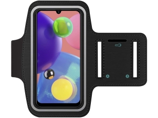 Samsung Galaxy A70s Fitness Jogging Sport Armband mit Schlüsselfach
