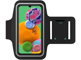 Samsung Galaxy A90 5G Fitness Jogging Sport Armband mit Schlüsselfach
