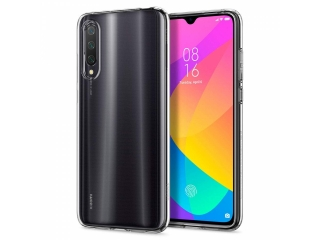 Xiaomi Mi 9 Lite Gummi Hülle flexibel dünn transparent thin clear