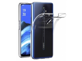 Oppo Reno 2Z Gummi TPU Hülle flexibel dünn transparent thin clear