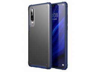 No-Scratch Anti-Impact Huawei P30 Hülle 2m Fallschutz blau matt