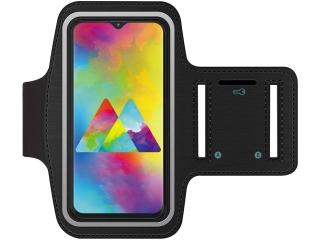 Samsung Galaxy M20 Fitness Jogging Sport Armband mit Schlüsselfach
