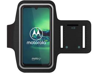 Motorola Moto G8 Plus Fitness Jogging Sport Armband mit Schlüsselfach