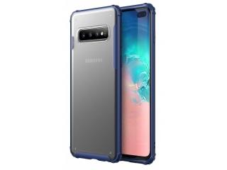 No-Scratch Anti-Impact Samsung S10+ Hülle 2m Fallschutz blau matt