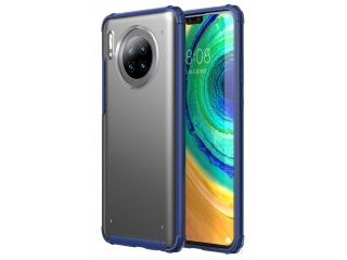 No-Scratch Anti-Impact Huawei Mate 30 Hülle 2m Fallschutz blau matt