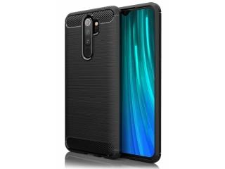 Xiaomi Redmi Note 8 Pro Carbon Gummi Hülle TPU Case flexibel schwarz