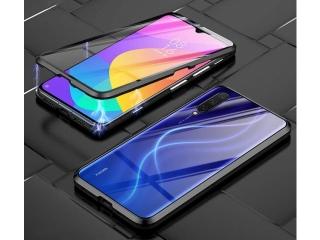 Xiaomi Mi 9 Lite Magnetische Alu Hülle Panzerglas Vorne & Hinten