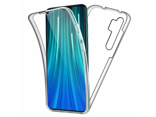 360 Grad Xiaomi Mi Note 10 Touch Case Transparent TPU Rundumschutz