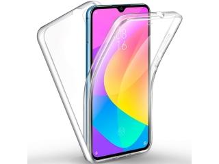 360 Grad Xiaomi Mi A3 Touch Case Transparent Klar TPU Rundumschutz