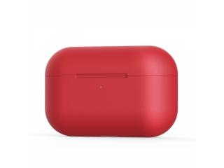 Airpods Pro Case Hülle in rot - Kratzfeste Silikon Schutzhülle
