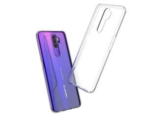 Oppo A5 2020 Gummi Hülle flexibel dünn transparent thin clear