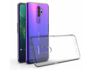 Oppo A9 2020 Gummi Hülle flexibel dünn transparent thin clear