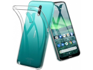 Nokia 2.3 Gummi Hülle flexibel dünn transparent thin clear