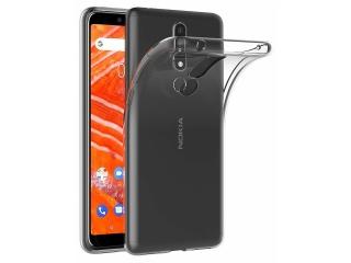 Nokia 3.1 Plus Gummi Hülle flexibel dünn transparent thin clear