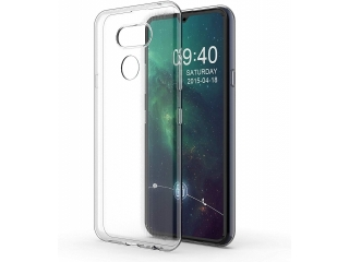 LG K40S Gummi Hülle flexibel dünn transparent thin clear case