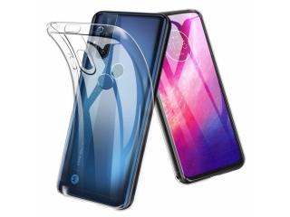 Motorola One Hyper Gummi Hülle flexibel dünn transparent thin clear