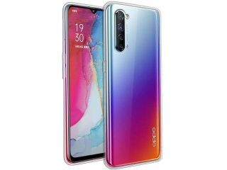 Oppo Reno 3 Gummi TPU Hülle flexibel dünn transparent thin clear