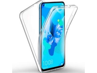 360 Grad Huawei Nova 5T Touch Case Transparent Klar TPU Rundumschutz