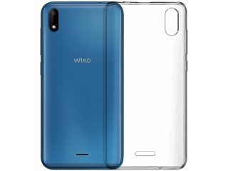 Wiko Y50 Gummi TPU Hülle flexibel dünn transparent thin clear