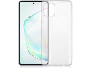 Samsung Galaxy Note 10 Lite Gummi Hülle dünn transparent thin clear
