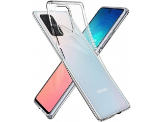 Samsung Galaxy S10 Lite Gummi Hülle dünn transparent thin clear