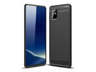 Samsung Galaxy Note 10 Lite Carbon Gummi Hülle TPU Case schwarz