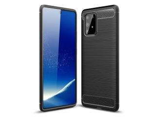 Samsung Galaxy S10 Lite Carbon Gummi Hülle TPU Case schwarz