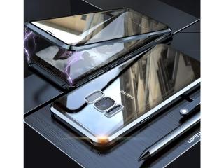 Samsung Galaxy S8 Magnetische Alu Hülle Panzerglas Vorne & Hinten