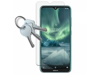 100% Komplett-Display Schutz Folie Nokia 7.2 Crystal Clear