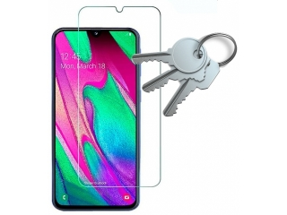 100% Komplett-Display Schutz Folie Samsung Galaxy A40 Crystal Clear