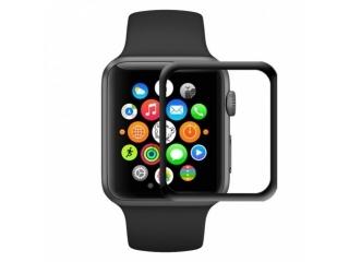 Baseus Apple Watch 38 mm Vollbild Curved Panzerglas Folie Schutzglas