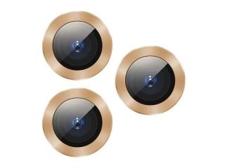Baseus iPhone 11 Pro / Pro Max Kameraschutz Panzerglas Ring gold